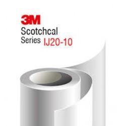 3M IJ20 - 10TR fényes fehér, víztiszta visszaszedhető ragasztó